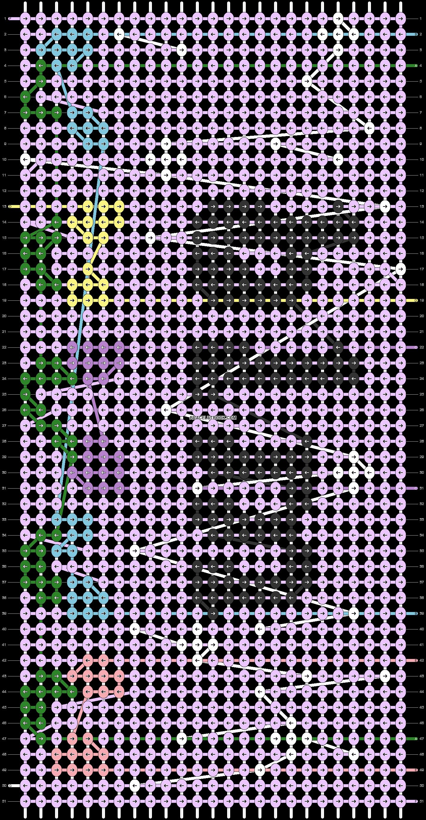 Alpha pattern #75665 pattern