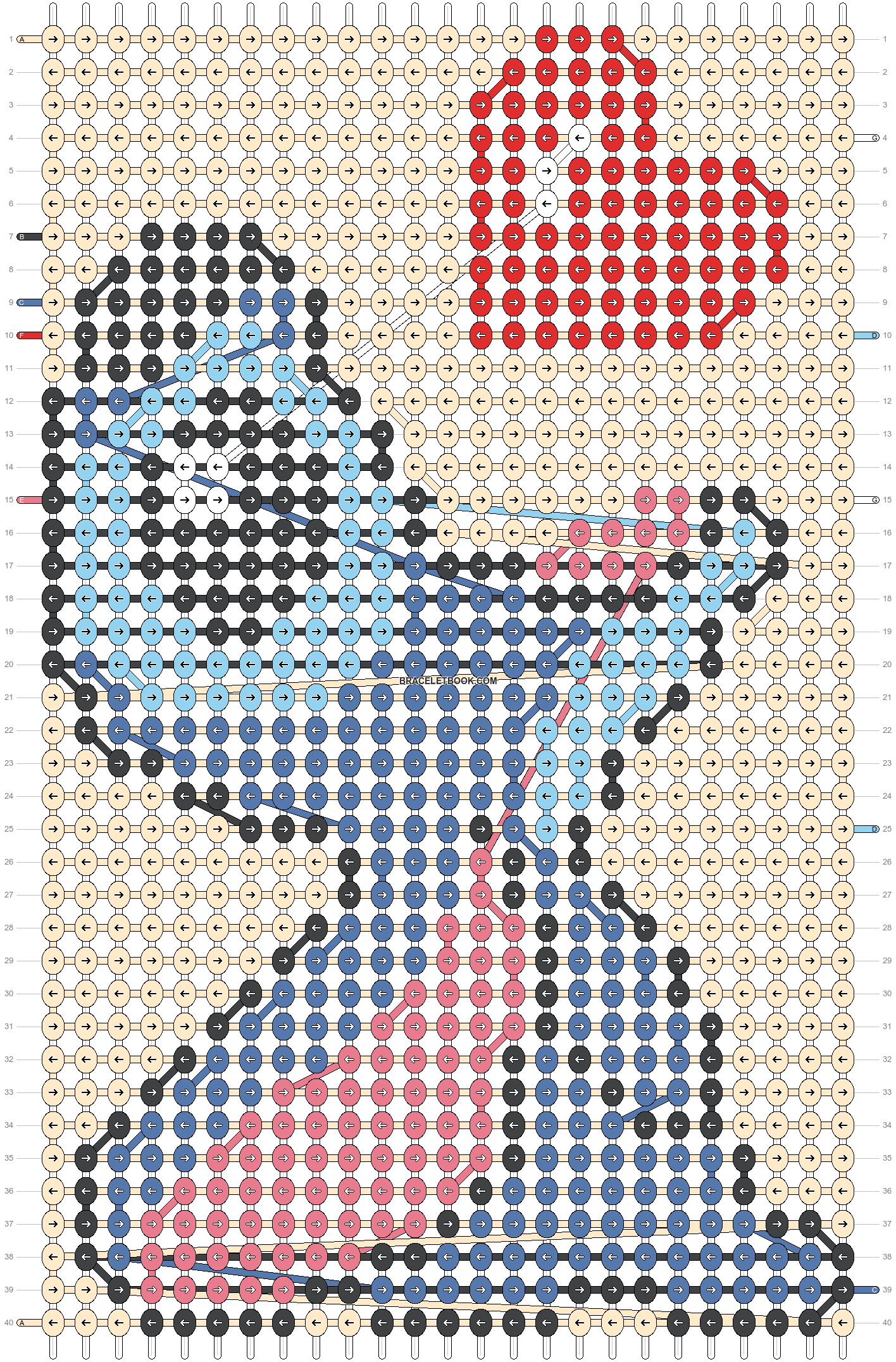 Alpha pattern #75666 pattern