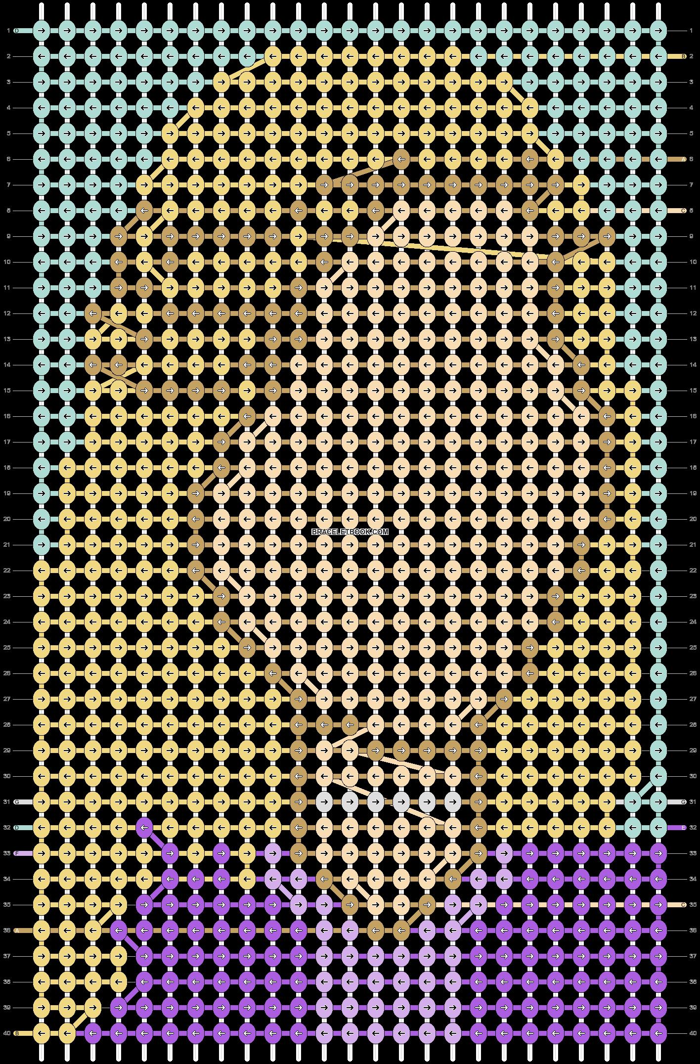 Alpha pattern #75668 pattern
