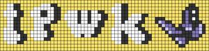 Alpha pattern #75691