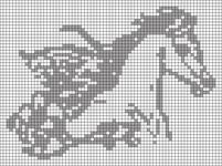 Alpha pattern #75702