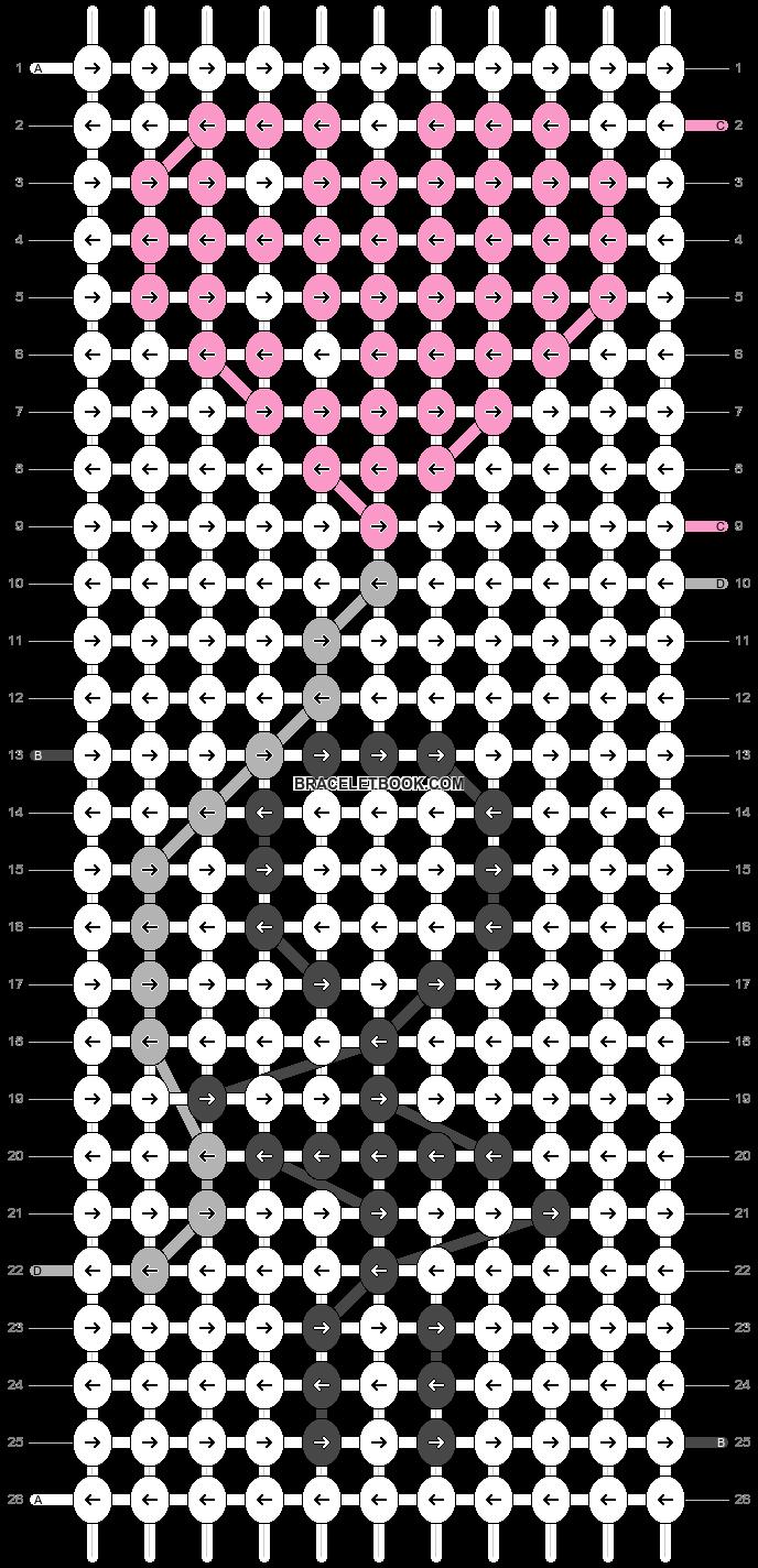 Alpha pattern #75705 pattern