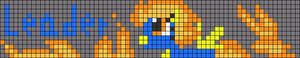 Alpha pattern #75723