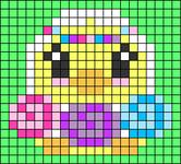 Alpha pattern #75733