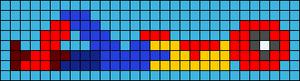 Alpha pattern #75756