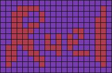 Alpha pattern #75775
