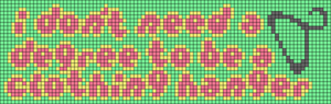 Alpha pattern #75790