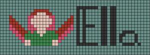 Alpha pattern #75876