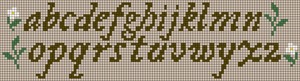 Alpha pattern #75922