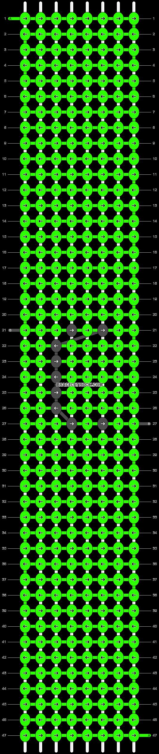 Alpha pattern #75957 pattern
