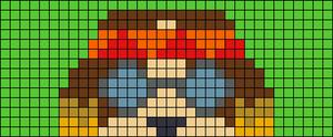 Alpha pattern #75977