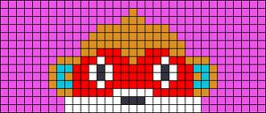Alpha pattern #75992