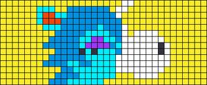 Alpha pattern #76025