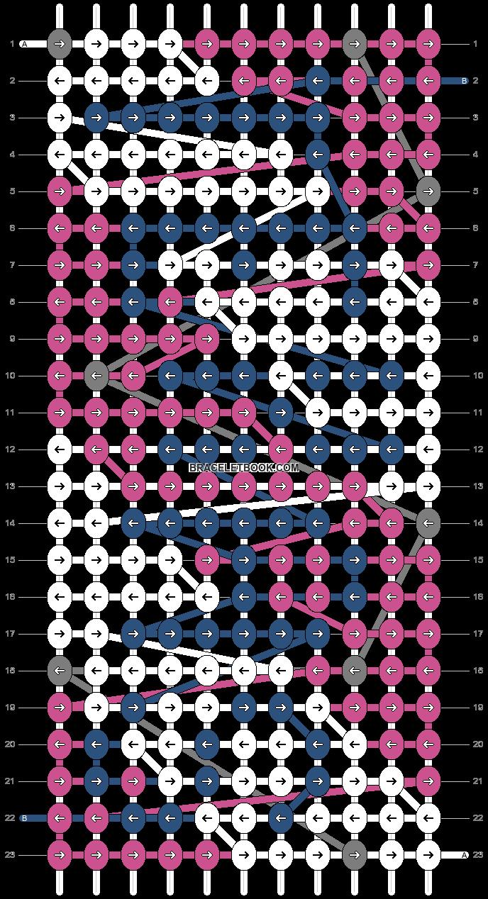 Alpha pattern #76037 pattern