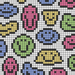 Alpha pattern #76043