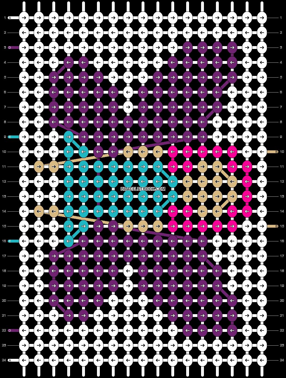 Alpha pattern #76045 pattern