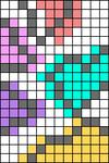 Alpha pattern #76090