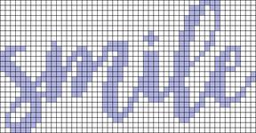 Alpha pattern #76165