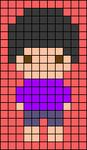 Alpha pattern #76296