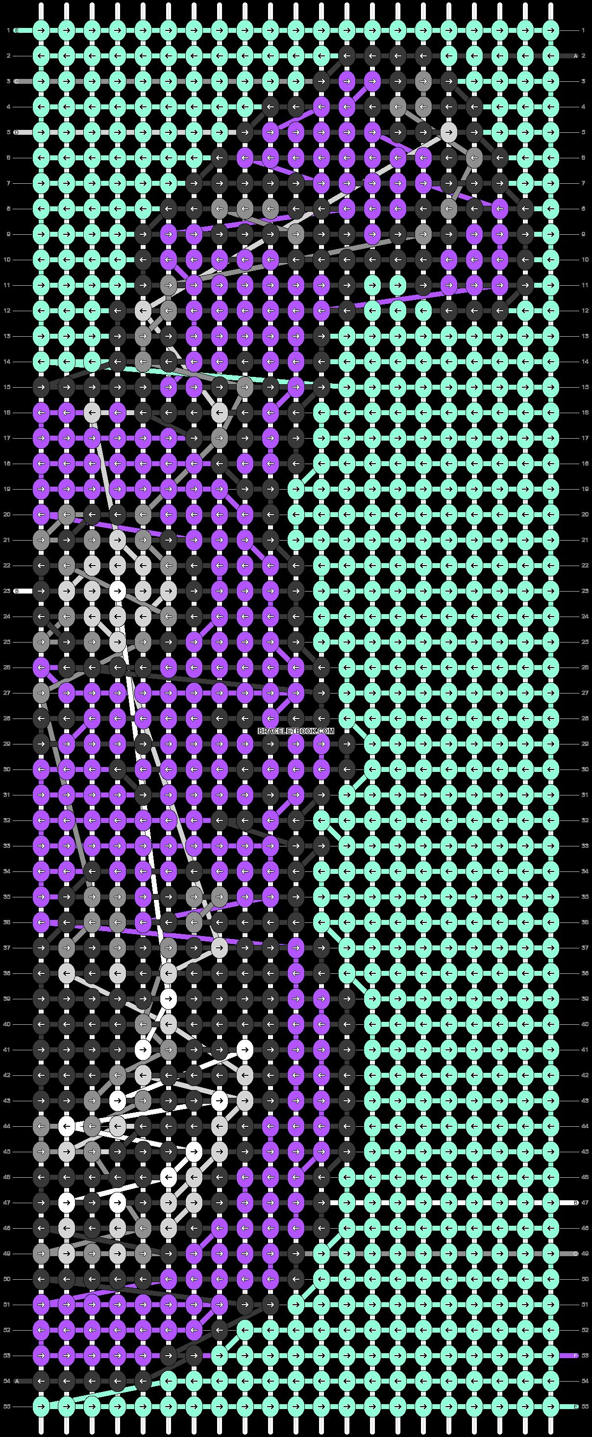 Alpha pattern #76310 pattern