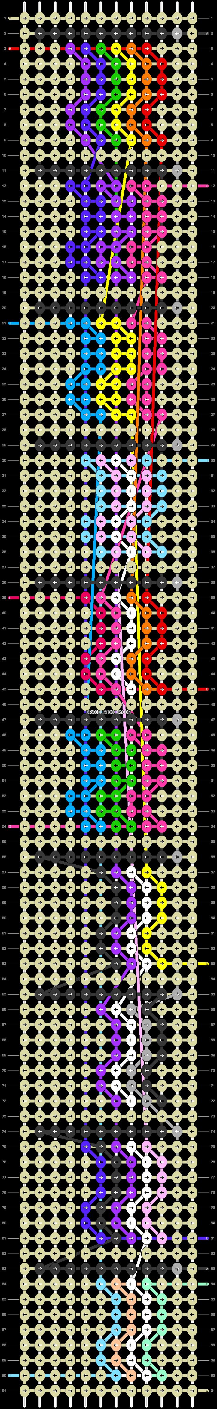 Alpha pattern #76313 pattern