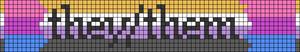 Alpha pattern #76336