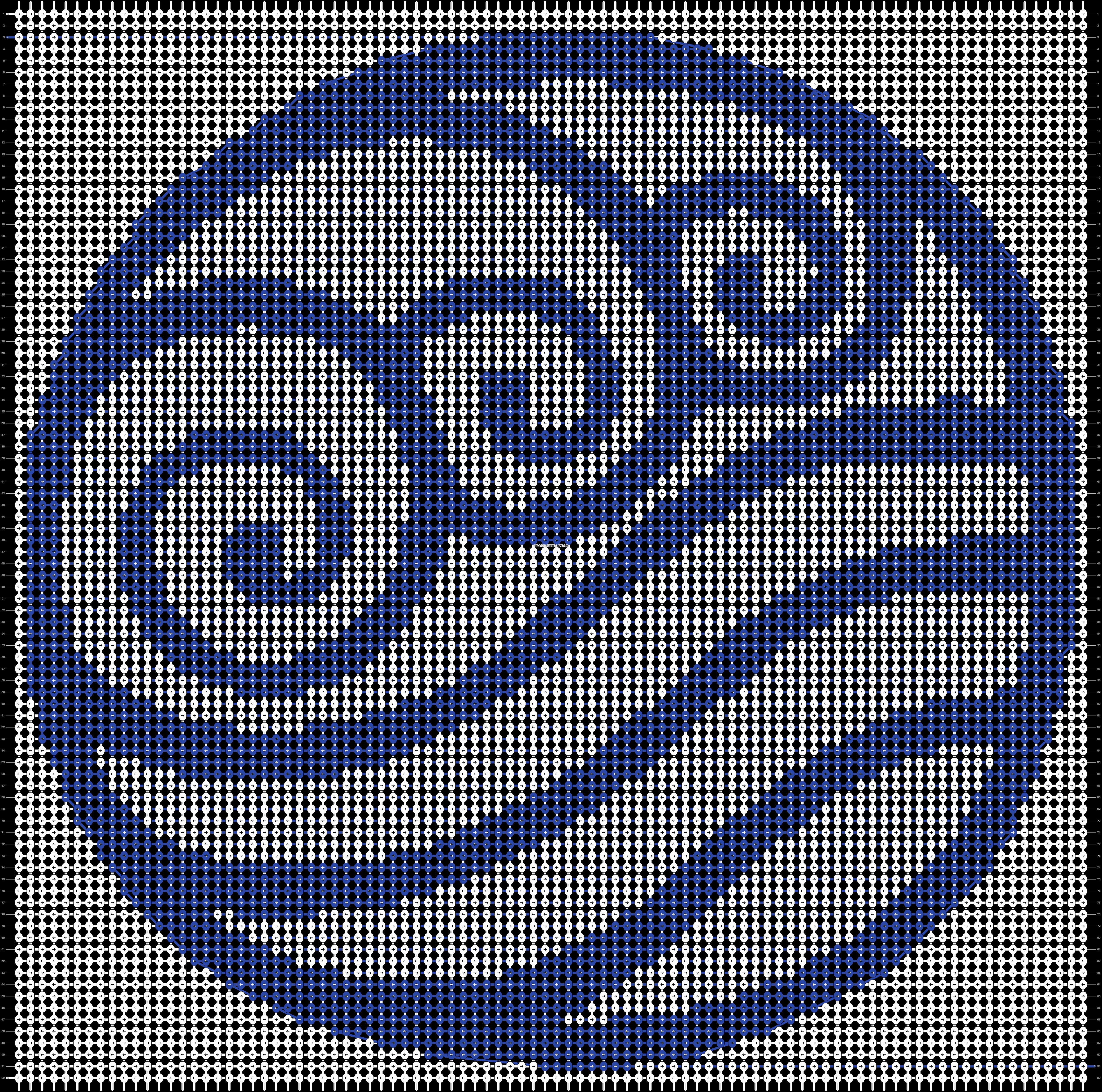 Alpha pattern #76353 pattern