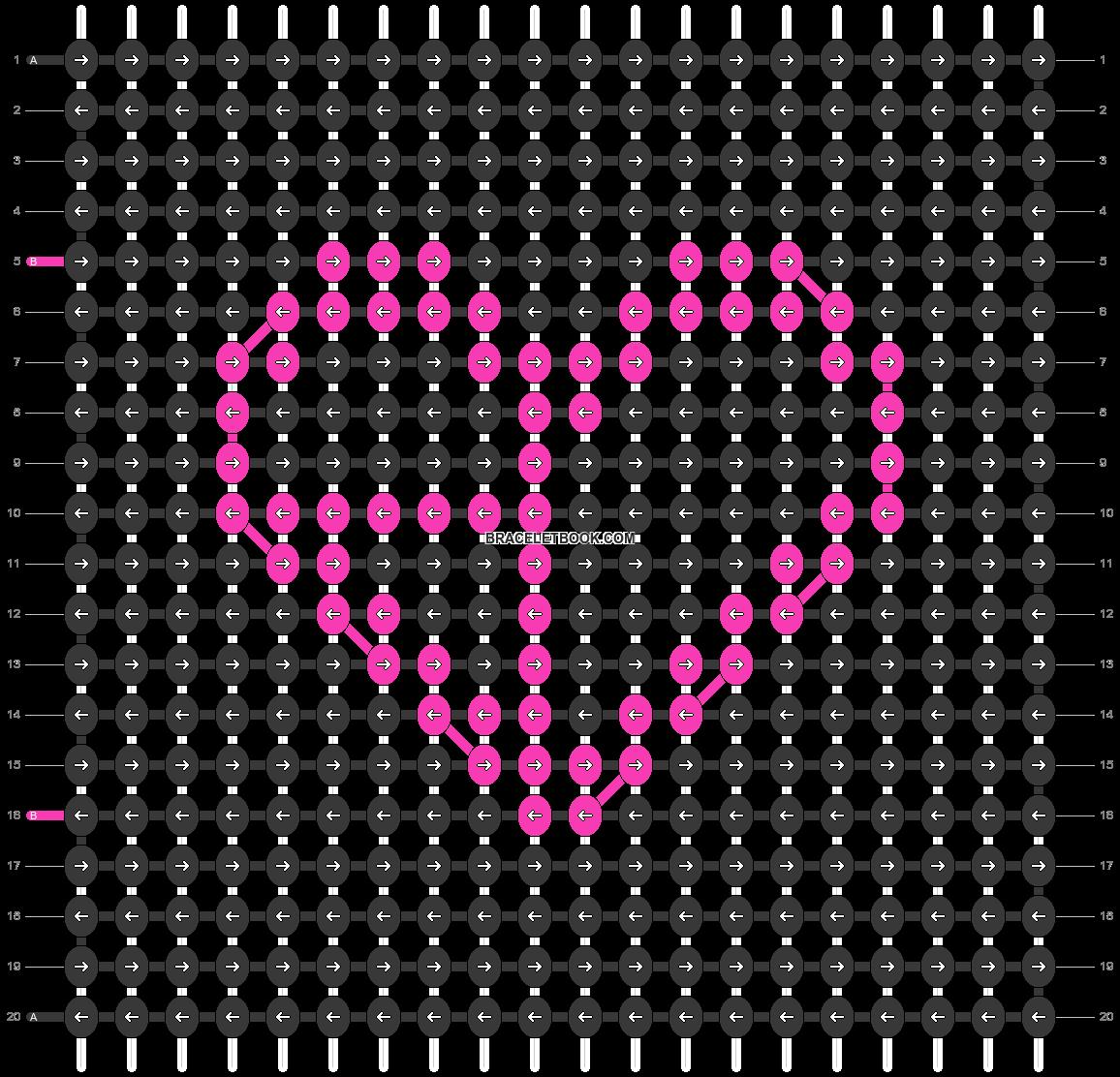 Alpha pattern #76365 pattern