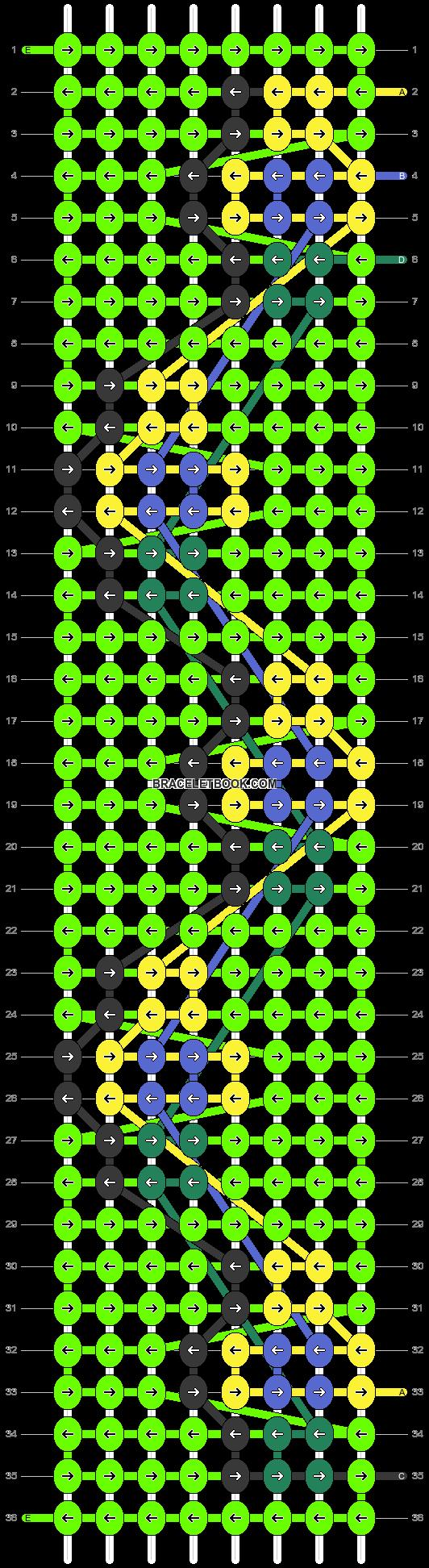 Alpha pattern #76480 pattern