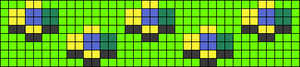 Alpha pattern #76480