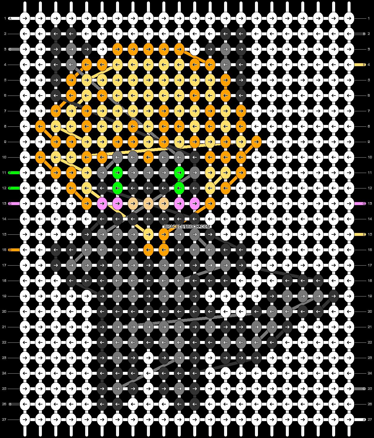 Alpha pattern #76488 pattern