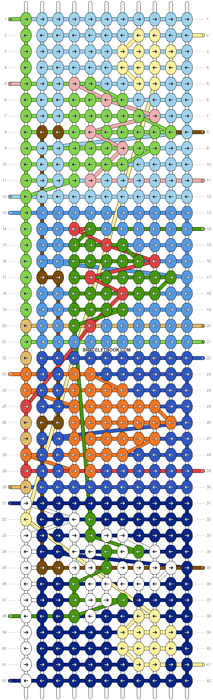 Alpha pattern #76540 pattern