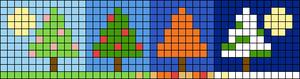 Alpha pattern #76540