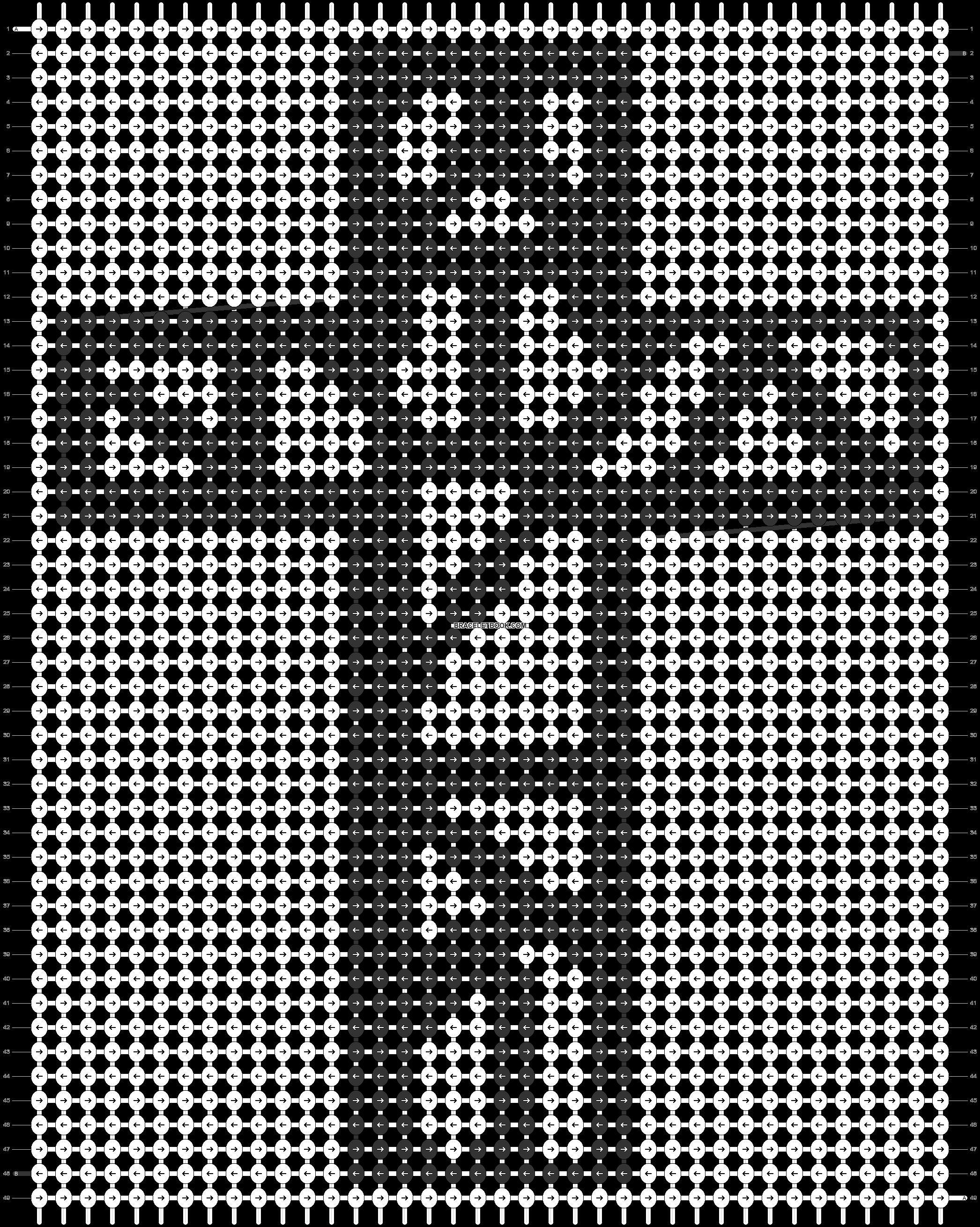 Alpha pattern #76601 pattern