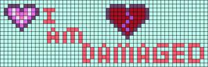 Alpha pattern #76607