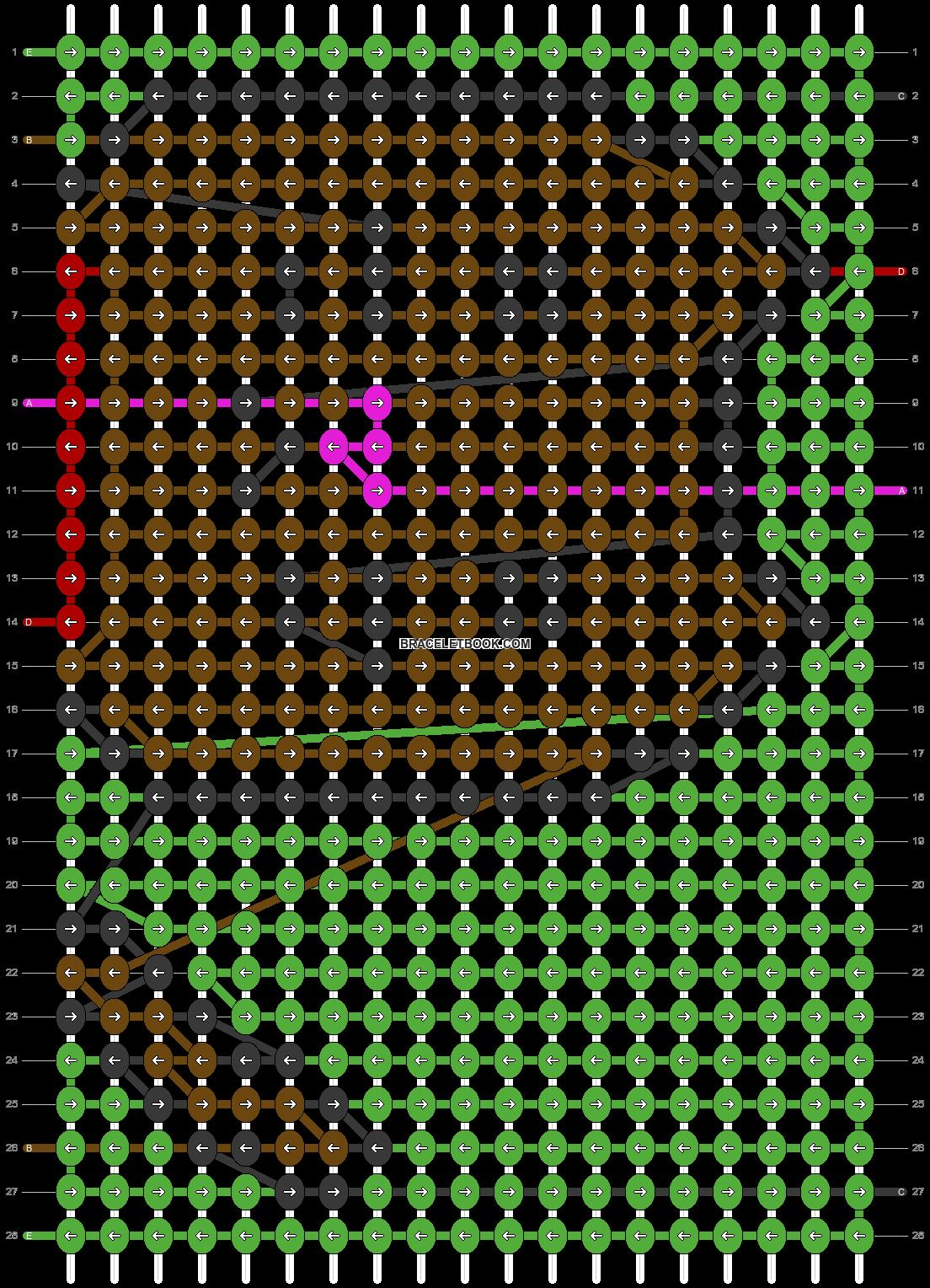 Alpha pattern #76612 pattern