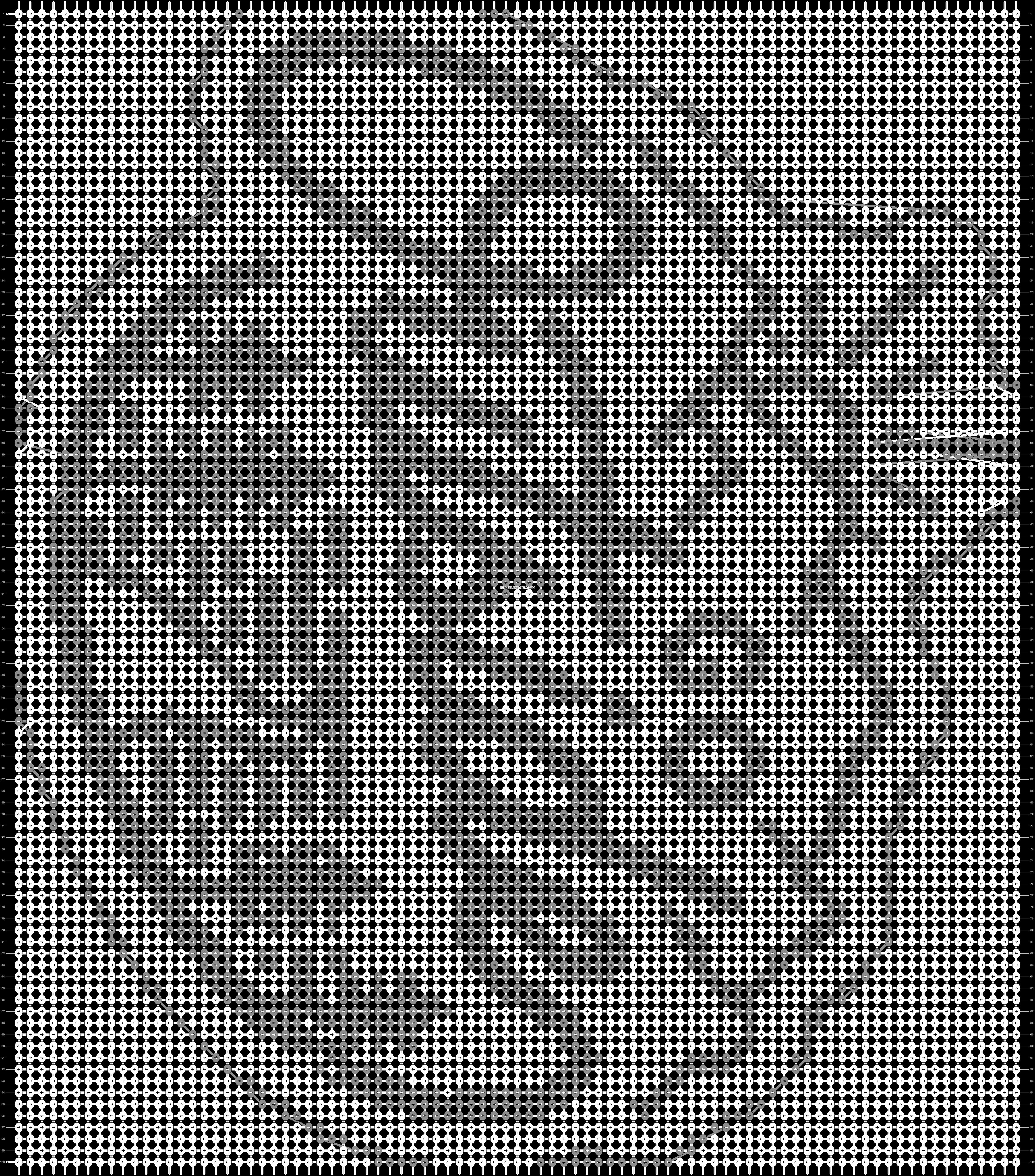 Alpha pattern #76614 pattern