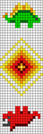 Alpha pattern #76635