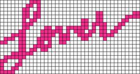 Alpha pattern #76642
