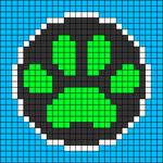 Alpha pattern #76652