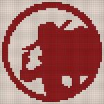 Alpha pattern #76671