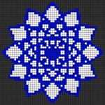 Alpha pattern #76676