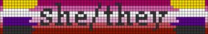 Alpha pattern #76745