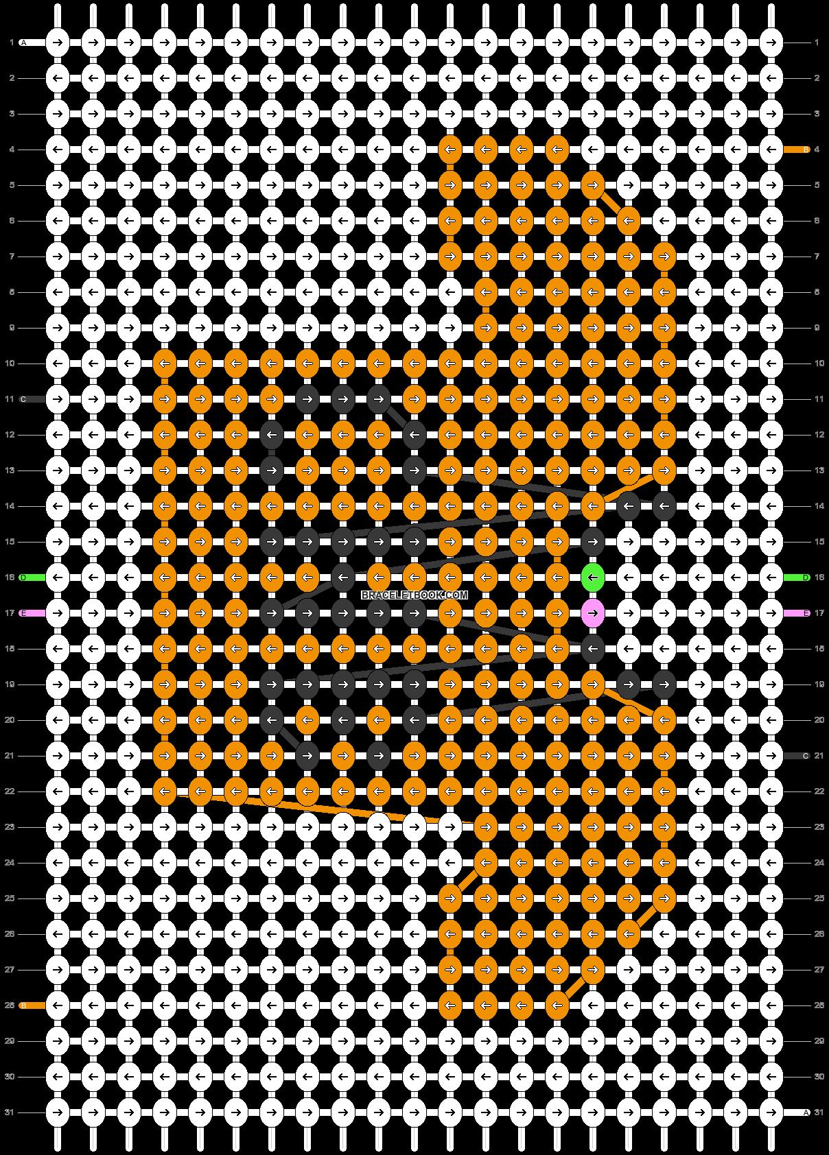 Alpha pattern #76753 pattern