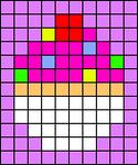 Alpha pattern #76758