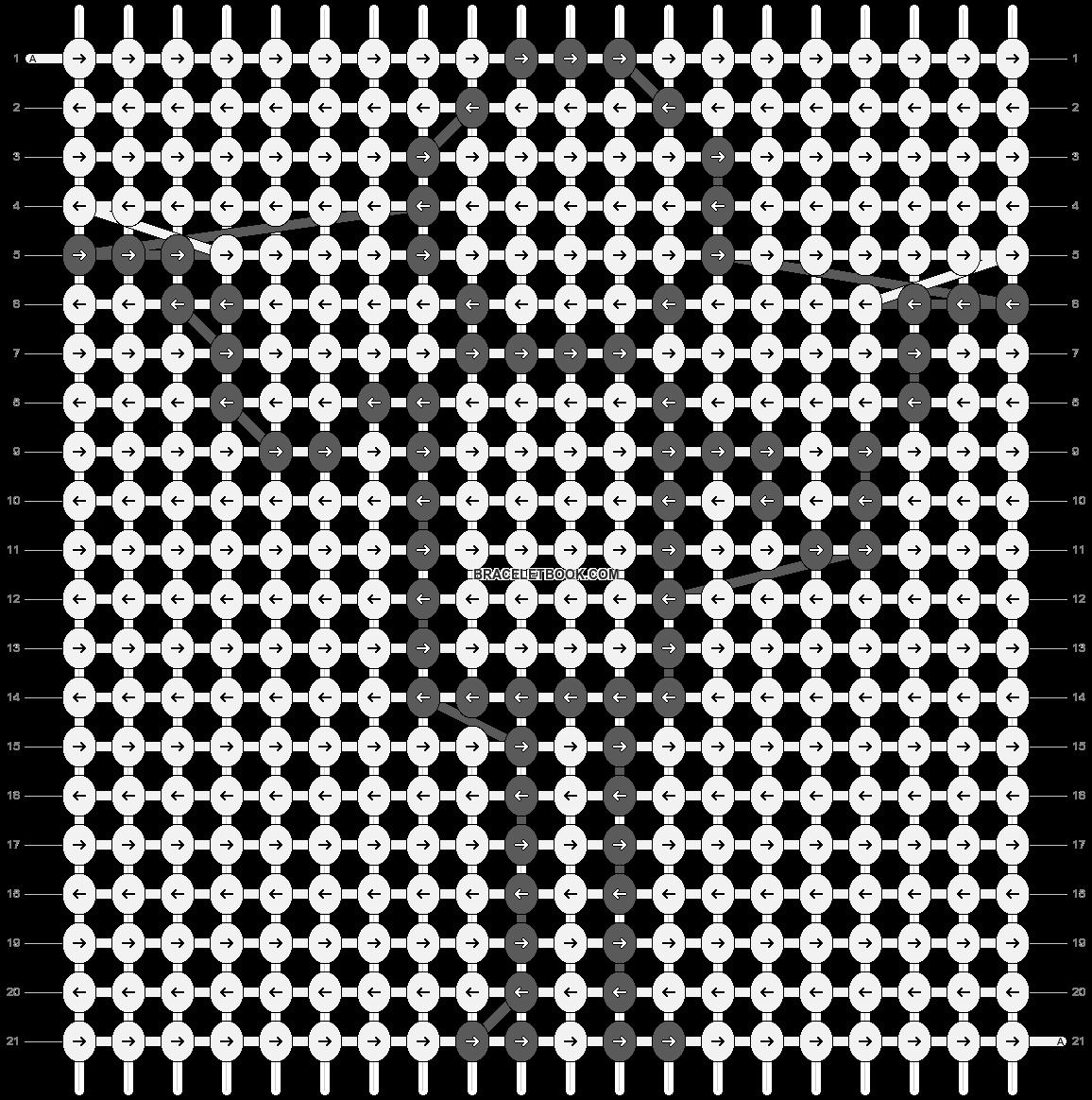 Alpha pattern #76784 pattern