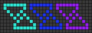 Alpha pattern #76786