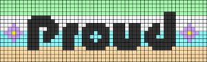 Alpha pattern #76789