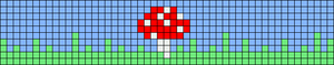 Alpha pattern #76791