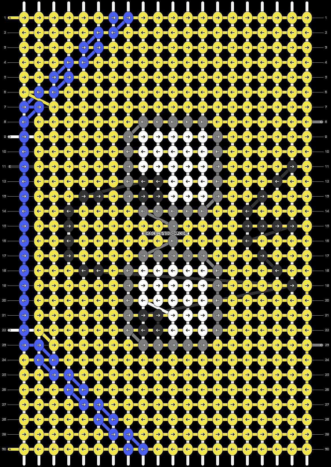 Alpha pattern #76809 pattern